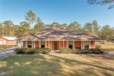 Covington Single Family Home For Sale: 76340 S Fitzmorris Road