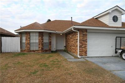 Marrero Single Family Home For Sale: 2536 Highland Meadows Drive