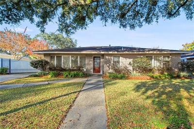 New Orleans Single Family Home For Sale: 7320 Jade Street
