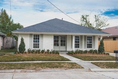 Metairie Single Family Home For Sale: 1901 Satsuma Street