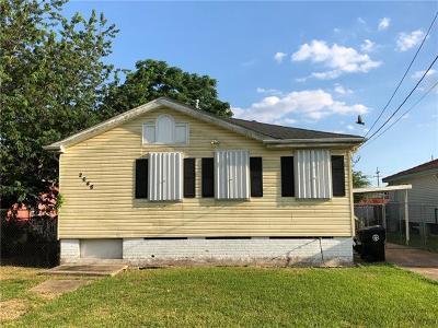 New Orleans Single Family Home For Sale: 2646 Robert E Lee Boulevard
