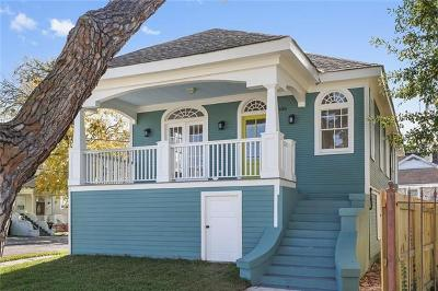 New Orleans Single Family Home For Sale: 4100 S Johnson Street