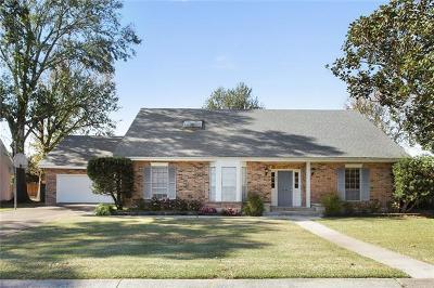Gretna Single Family Home For Sale: 624 Fairfield Avenue
