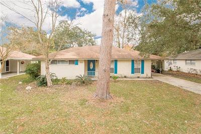 Slidell Single Family Home For Sale: 3816 Cambridge Street