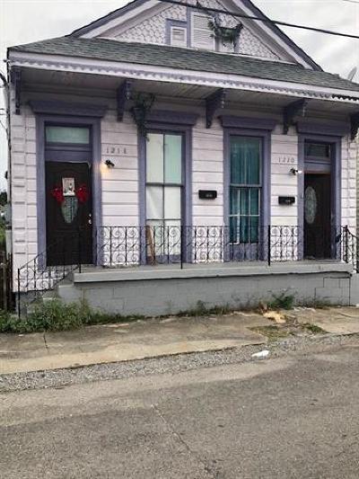 New Orleans Multi Family Home For Sale: 1218-1220 Bartholomew Street