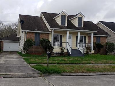 Destrehan Single Family Home For Sale: 206 Madewood Drive