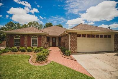Kenner Single Family Home For Sale: 5013 Toby Lane