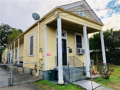 New Orleans Single Family Home For Sale: 4526 Danneel Street
