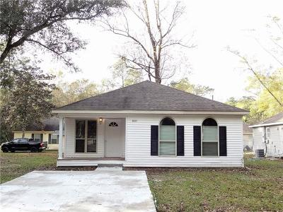 Slidell Single Family Home For Sale: 62001 N 7th Street