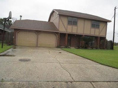 Marrero Single Family Home For Sale: 3059 Pritchard Road