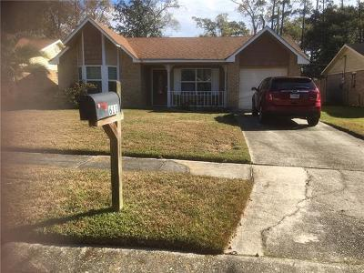 Mandeville Single Family Home For Sale: 611 Forest Loop