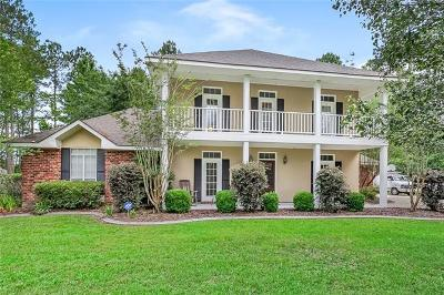 Mandeville Single Family Home For Sale: 321 Independence Drive