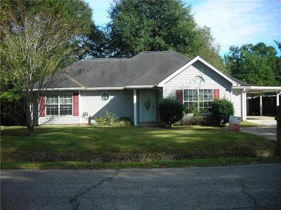 Slidell Single Family Home For Sale: 1552 Live Oak Street
