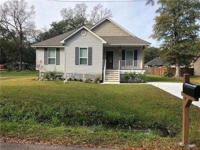 Slidell Single Family Home For Sale: 3337 Rama Street