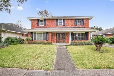 New Orleans Single Family Home For Sale: 2920 Danbury Drive