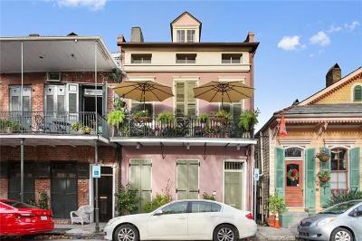French Quarter Multi Family Home For Sale: 935 Barracks Street #4