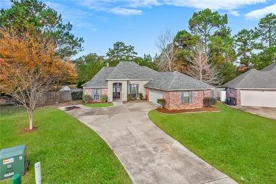 Madisonville Single Family Home For Sale: 256 Highland Oaks North