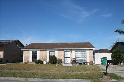 Marrero Single Family Home For Sale: 2072 Maharry Drive
