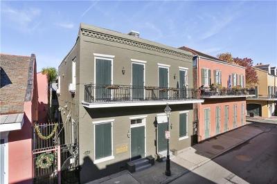 French Quarter Multi Family Home For Sale: 433 Burgundy Street #4