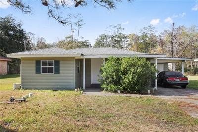 Slidell Single Family Home For Sale: 4375 Tupelo Drive