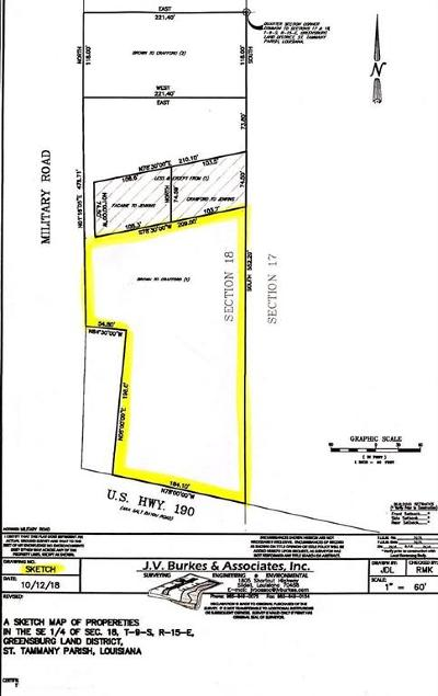 Slidell Residential Lots & Land For Sale: 756 S Military Road