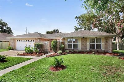 Kenner Single Family Home For Sale: 71 Yellowstone Street