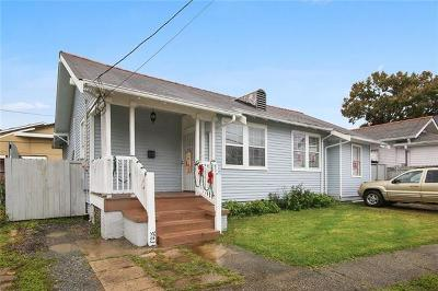 Single Family Home For Sale: 3803 Delachaise Street