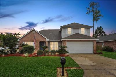 Slidell Single Family Home For Sale: 5455 Clearpoint Drive