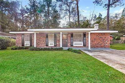 Slidell Single Family Home For Sale: 116 Pine Lane