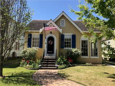 Single Family Home For Sale: 3420 Robert Street
