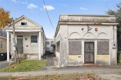 Single Family Home For Sale: 319 S Olympia Street