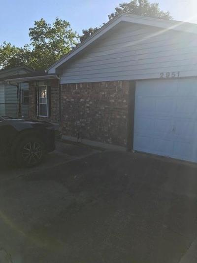 Single Family Home For Sale: 2951 Kent Drive
