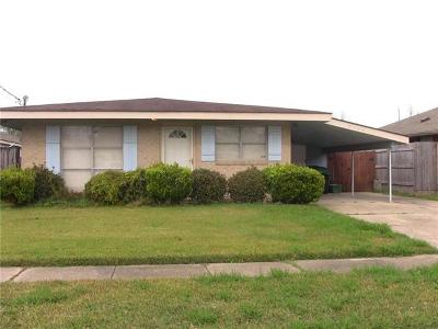 Marrero Single Family Home For Sale: 5148 Page Street