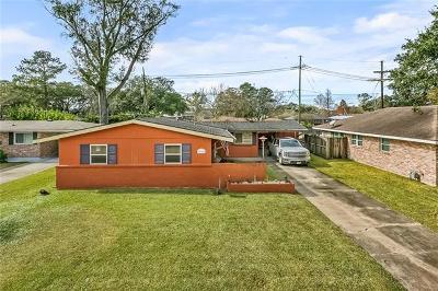 River Ridge, Harahan Single Family Home For Sale: 558 Ashlawn Drive