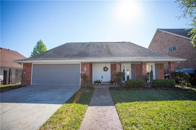 Metairie Single Family Home For Sale: 3905 Tolmas Drive