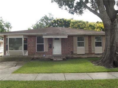 Kenner Single Family Home For Sale: 4006 California Avenue