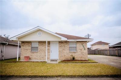 Marrero Single Family Home For Sale: 2544 Rue Jesann