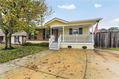 Kenner Single Family Home For Sale: 3300 E Catahoula Court
