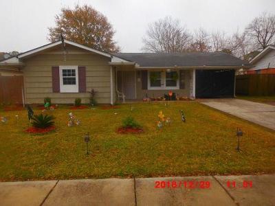 Single Family Home For Sale: 4719 Gawain Drive
