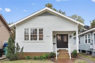 Single Family Home For Sale: 5014 S Prieur Street