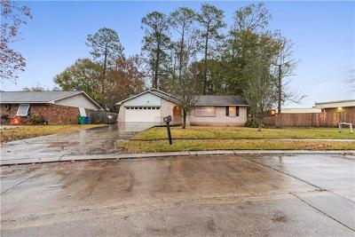 Slidell Single Family Home For Sale: 1150 Rue Verand Drive