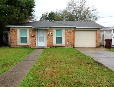 Kenner Single Family Home For Sale: 14 Furman Circle