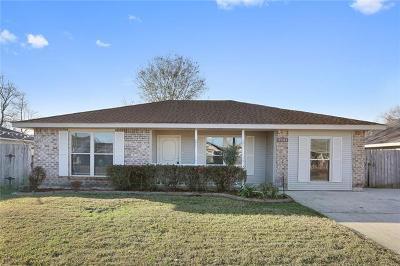 Marrero Single Family Home For Sale: 2741 Varnado Street
