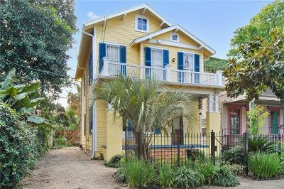 Single Family Home For Sale: 8416 Freret Street