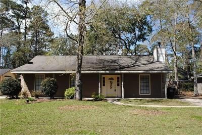Single Family Home For Sale: 2630 Rue Weller Drive