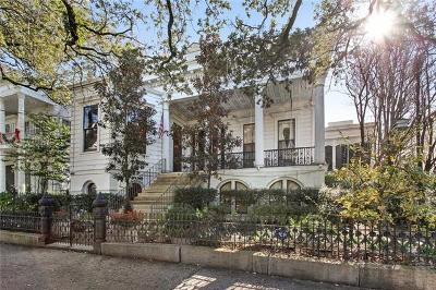 Single Family Home For Sale: 2228 St Charles Avenue