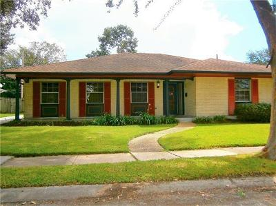 New Orleans Single Family Home For Sale: 2620 Valentine Court