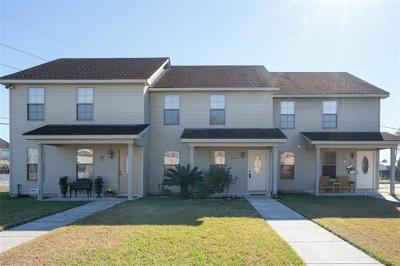 Destrehan, St. Rose Townhouse For Sale: 324 Ormond Meadows Drive #B