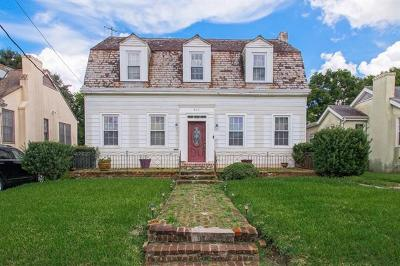 Single Family Home For Sale: 4619 Mandeville Street