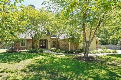 Madisonville Single Family Home For Sale: 224 Rue Mon Jardin Street
